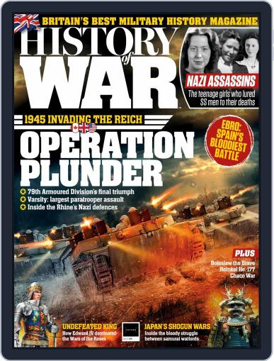 History of War (Digital) April 1st, 2020 Issue Cover