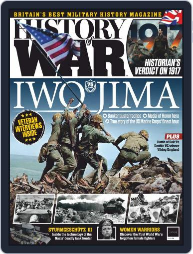 History of War (Digital) March 1st, 2020 Issue Cover