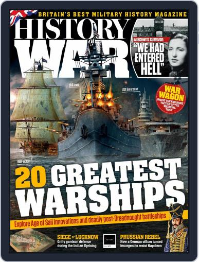History of War February 1st, 2020 Digital Back Issue Cover