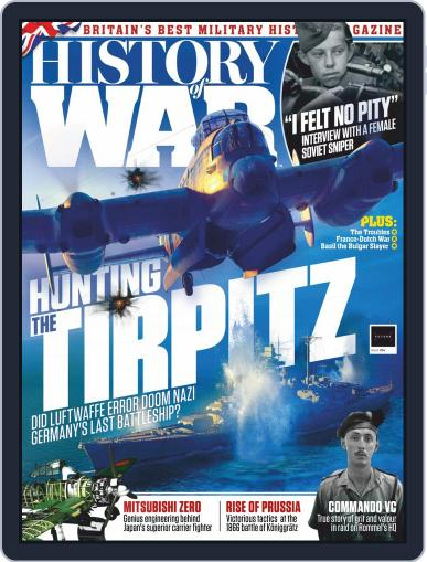 History of War (Digital) November 15th, 2019 Issue Cover