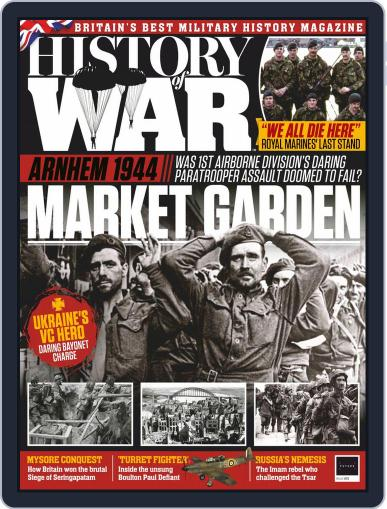 History of War (Digital) October 15th, 2019 Issue Cover