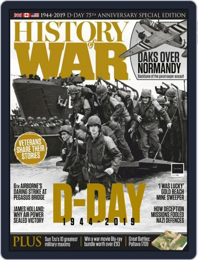 History of War (Digital) July 1st, 2019 Issue Cover