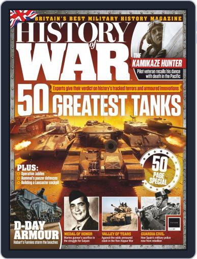 History of War June 1st, 2019 Digital Back Issue Cover