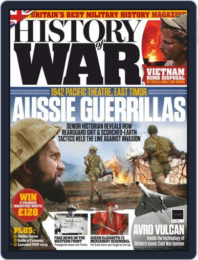 History of War (Digital) February 1st, 2019 Issue Cover