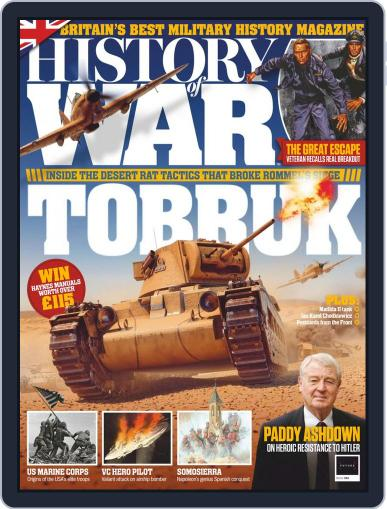 History of War (Digital) January 1st, 2019 Issue Cover