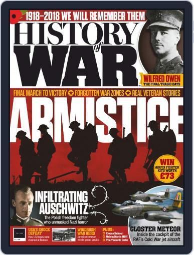 History of War (Digital) December 1st, 2018 Issue Cover