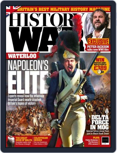 History of War (Digital) November 1st, 2018 Issue Cover
