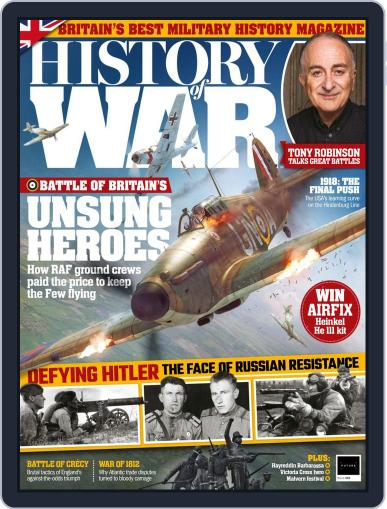 History of War (Digital) October 1st, 2018 Issue Cover