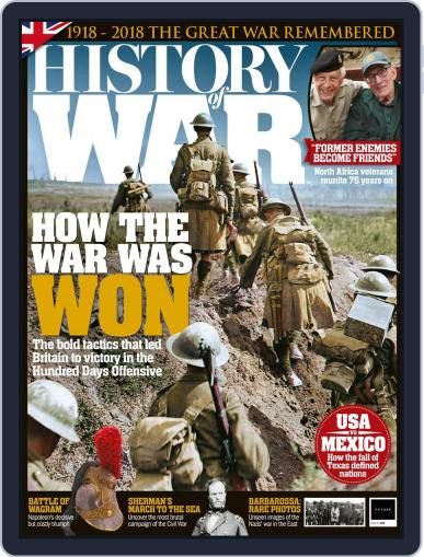 History of War (Digital) September 1st, 2018 Issue Cover
