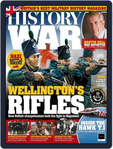 History of War July 1st, 2018 Digital Back Issue Cover