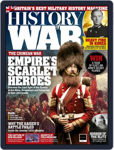 History of War March 1st, 2018 Digital Back Issue Cover