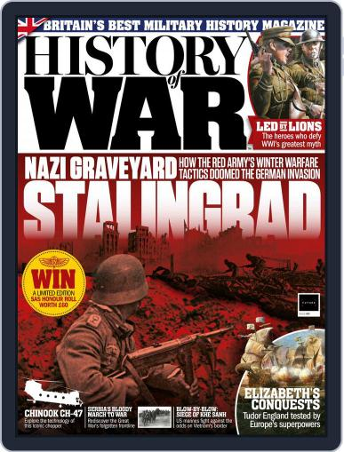History of War (Digital) February 1st, 2018 Issue Cover