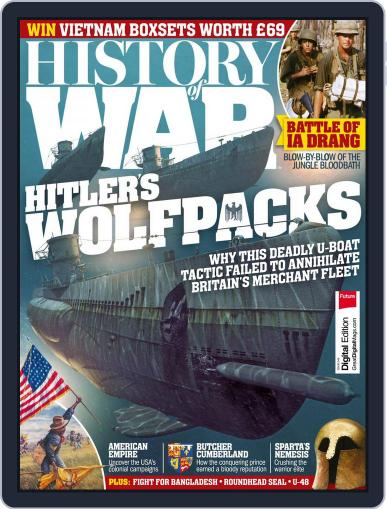 History of War December 1st, 2017 Digital Back Issue Cover