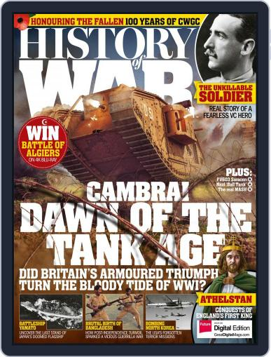 History of War (Digital) November 1st, 2017 Issue Cover