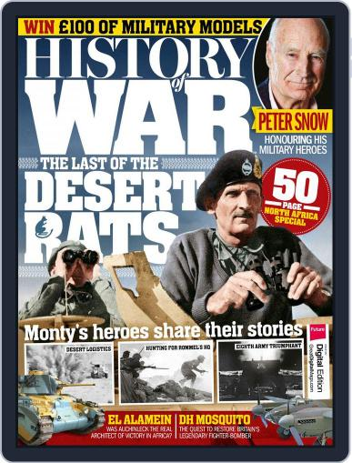 History of War (Digital) October 1st, 2017 Issue Cover