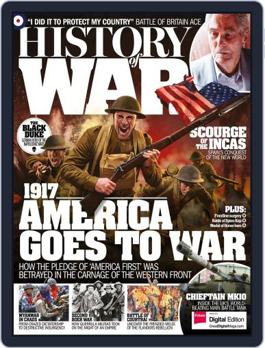 History of War (Digital) May 1st, 2017 Issue Cover