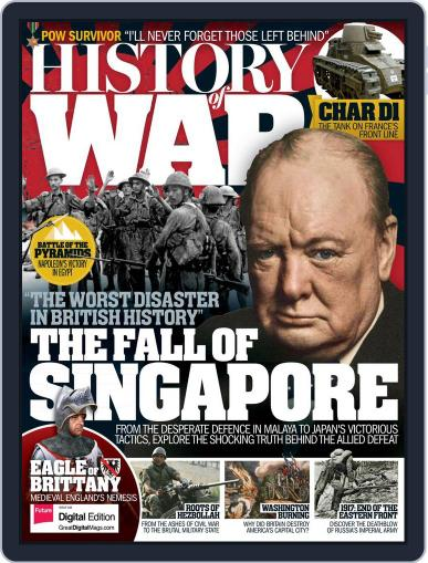 History of War (Digital) April 1st, 2017 Issue Cover