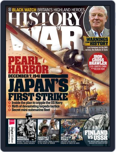 History of War (Digital) February 1st, 2017 Issue Cover