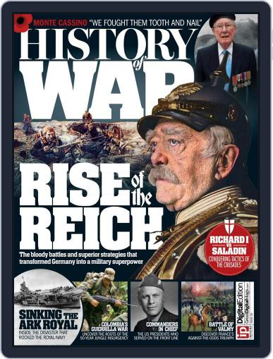 History of War January 1st, 2017 Digital Back Issue Cover
