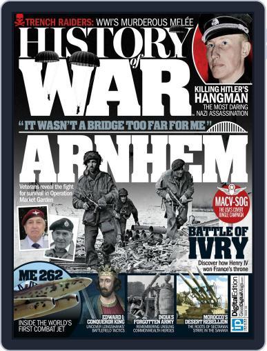 History of War December 1st, 2016 Digital Back Issue Cover