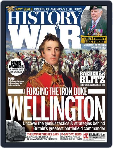 History of War July 14th, 2016 Digital Back Issue Cover