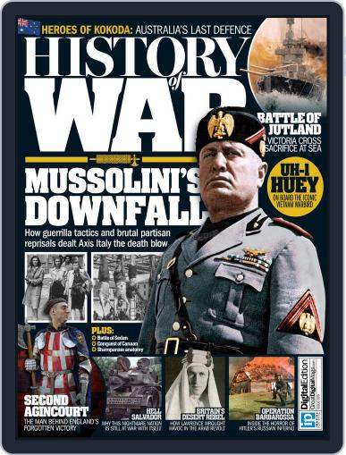 History of War (Digital) May 19th, 2016 Issue Cover