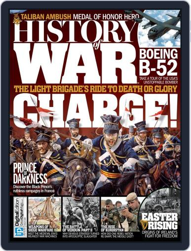 History of War (Digital) April 21st, 2016 Issue Cover