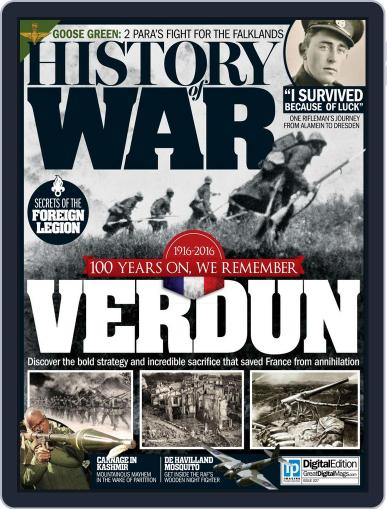 History of War (Digital) March 24th, 2016 Issue Cover