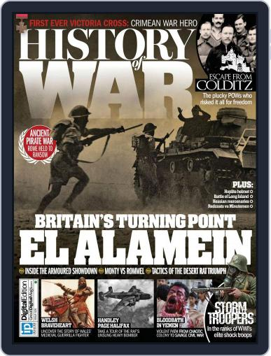 History of War February 25th, 2016 Digital Back Issue Cover