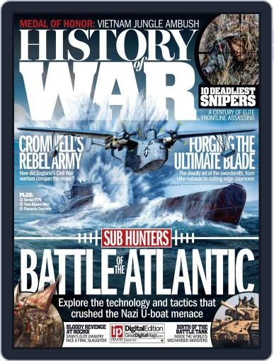 History of War January 28th, 2016 Digital Back Issue Cover