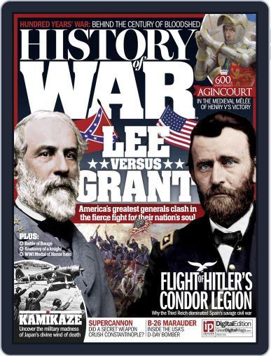 History of War November 1st, 2015 Digital Back Issue Cover