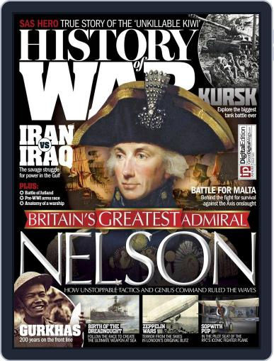 History of War October 1st, 2015 Digital Back Issue Cover