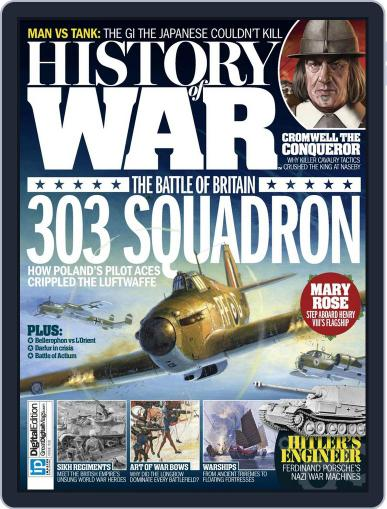 History of War (Digital) July 15th, 2015 Issue Cover