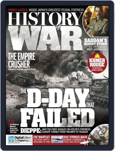 History of War (Digital) May 20th, 2015 Issue Cover