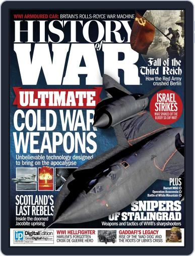 History of War (Digital) April 22nd, 2015 Issue Cover