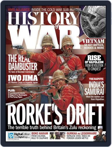 History of War (Digital) March 2nd, 2015 Issue Cover