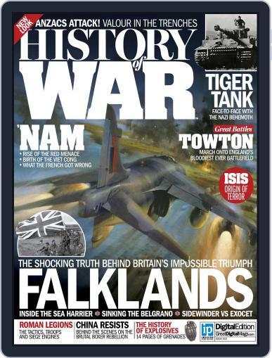 History of War (Digital) December 3rd, 2014 Issue Cover
