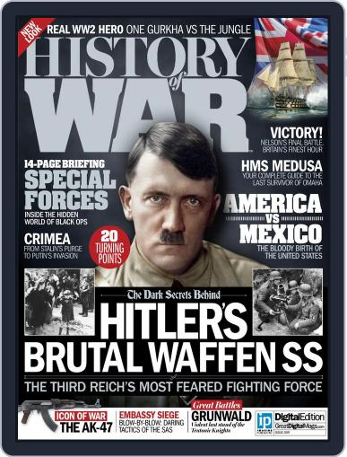 History of War November 5th, 2014 Digital Back Issue Cover