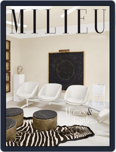 MILIEU (Digital) August 1st, 2015 Issue Cover