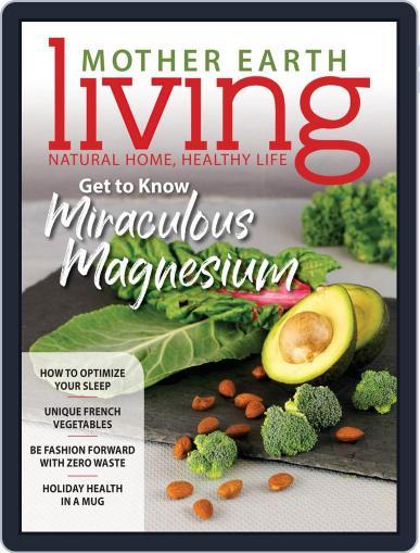 Mother Earth Living November 1st, 2019 Digital Back Issue Cover