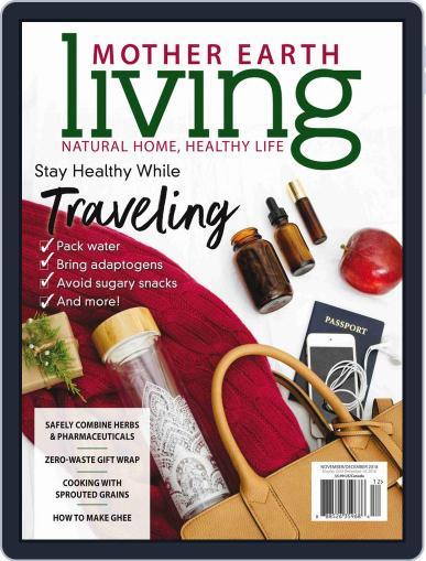 Mother Earth Living November 1st, 2018 Digital Back Issue Cover