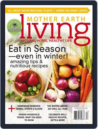 Mother Earth Living November 1st, 2016 Digital Back Issue Cover