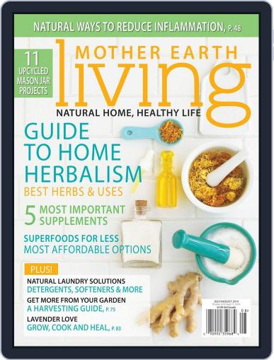 Mother Earth Living June 6th, 2014 Digital Back Issue Cover