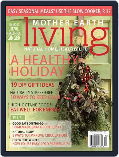 Mother Earth Living October 12th, 2013 Digital Back Issue Cover