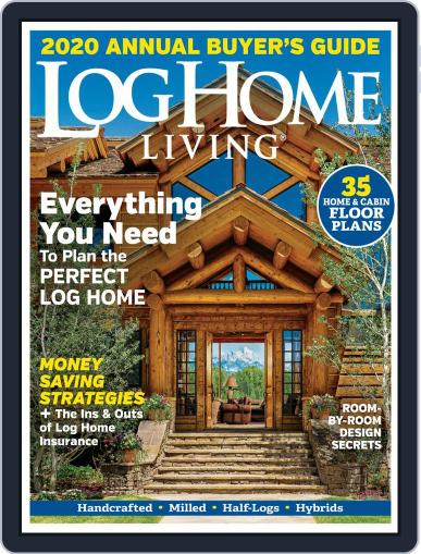 Log and Timber Home Living (Digital) September 3rd, 2019 Issue Cover