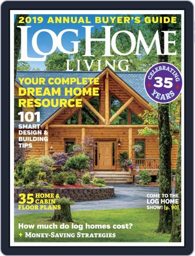 Log and Timber Home Living (Digital) September 4th, 2018 Issue Cover