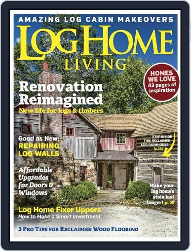 Log and Timber Home Living September 1st, 2017 Digital Back Issue Cover