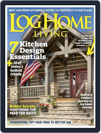 Log and Timber Home Living May 1st, 2017 Digital Back Issue Cover