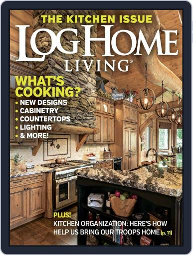 Log and Timber Home Living (Digital) April 5th, 2016 Issue Cover
