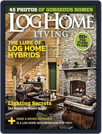 Log and Timber Home Living (Digital) January 19th, 2016 Issue Cover